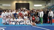 Içara mantém terceira colocação geral em etapa estadual de karatê