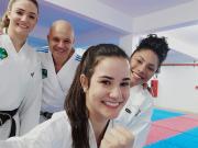 Três atletas de Içara são convocadas para a Seleção Brasileira de Karatê