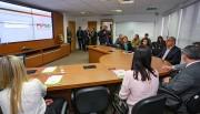 Governador Eduardo Pinho Moreira prestigia lançamento de software voltado à Assistência Social
