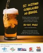 Santa Catarina lança novo produto turístico que busca consolidar o estado como destino cervejeiro do Brasil