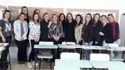 Profissionais da educação de Içara trocam experiências em Formação Continuada