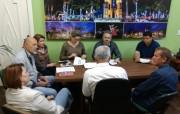 Reunião sobre o desassoreamento do Rio Urussanga