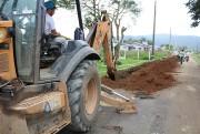 Inicia obra de ampliação da rede da Casan em Maracajá