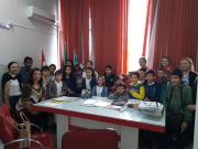 Alunos da Escola Antônio Guglielmi Sobrinho visitam o Paço