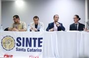 Décio Lima anuncia que duplicará o piso do professor, nos próximos quatro anos