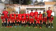 Equipe Sub-11 da FMCE joga por vaga nas quartas de finais da LUD