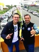 Mobilização cresce diariamente e segue time Bolsonaro pelas ruas de Santa Catarina