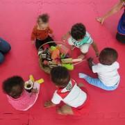 """""""Cestos dos Tesouros"""" encanta crianças do Grupo 1 do CEI Afasc Carlos Piazza"""