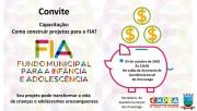 Secretaria de Assistência Social promove capacitação para o FIA
