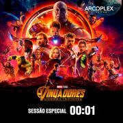 Vingadores: Guerra Infinita estreia com sessão a meia-noite