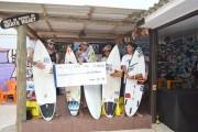 Praia do Rincão é palco da 1ª etapa do Surf Scream Catarinense