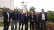 Comitiva da FIESC visita empresa Imbralit