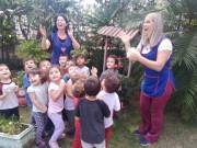 Crianças do CEI Afasc Professor Lapagesse estudam metamorfose da borboleta