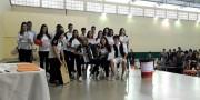 Quiz mistura arte e conhecimento na Escola Professora Salete Scotti do Santos