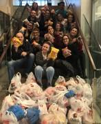 Bolão solidário da Copa arrecada duas toneladas de alimento