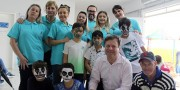 Demboski recebe 3ª edição do projeto Família Saudável