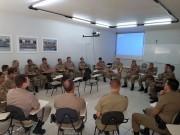 1ª Companhia realiza reunião mensal de trabalho