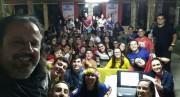 PJ da Paróquia Sagrada Família realiza 1ª Missão Jovem
