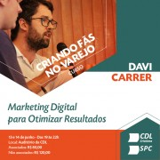Capacitação de marketing digital para o varejo na CDL de Criciúma