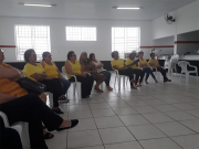 Clube de Mães do bairro Boa Vista tem palestra com equipe do projeto Amora