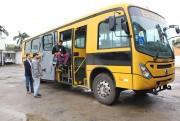Novo ônibus escolar inicia operações em Maracajá