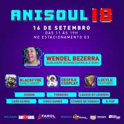 Dublador Wendel Bezerra participa do AniSoul 2018 neste domingo