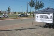ONG realiza pedágio em Balneário Rincão