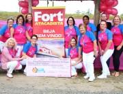Rede Feminina de Içara recebe troco solidário do Fort Atacadista