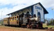 Trilhos da Mini Ferrovia Terezinha em manutenção até a próxima semana