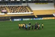 Criciúma encerra treinos para enfrentar o Avai
