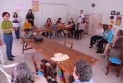 Clube de Mães do bairro Santa Luzia recebe orientações sobre violência contra a mulher