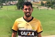 Marlon lateral esquerdo do Criciúma foi expulso pela quarta-vez