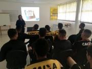Atletas do Sub-17 do Criciúma participam de palestra