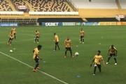 Atividade técnica no estádio HERIBERTO HÜLSE