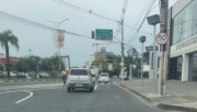 Manutenção de semáforo na Avenida Centenário causa lentidão no trânsito