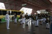 Fanfarra Humberto de Campos encanta terminal central