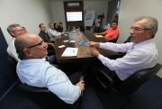 Presidente da Alesc cumpre roteiro de visitas no Vale do Itajaí