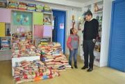 La Moda inicia entrega de alimentos arrecadados em bolão da Copa