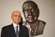 Busto em homenagem a Ruy Hülse é inaugurado na Unesc