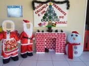 CEI's da Afasc montam árvores de natal com materiais recicláveis