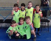 Campeonato interno de futsal movimenta as escolinhas