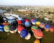 Araranguá recebe atrativos do 31º Festival de Balonismo neste domingo