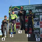 "Criciúma no segundo lugar do pódio no ""Turismo Nacional"" de velocidade"