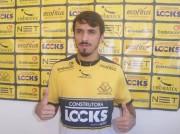 Criciúma Esporte Clube apresenta o meia Caique Valdívia