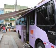 Ônibus Lilás estará quinta-feira em Maracajá