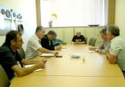 Patrões da indústria química realizam negociações
