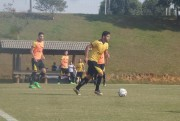 Criciúma se reapresenta no CT após vitória contra o Goiás