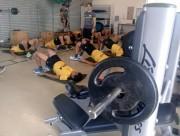 Atividade de força no Centro de Treinamento