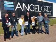 Comitiva da Fiesc Sul visita a empresa Angelgres