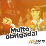 """Ada De Luca: """"vamos continuar sempre na luta por nossos catarinenses"""""""